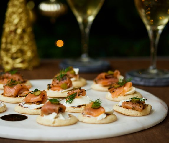 Christmas Canapes